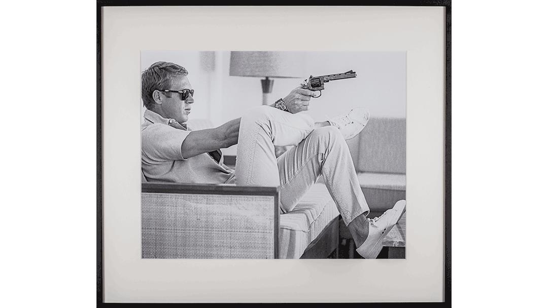 Vintage Foto - Steve McQueen