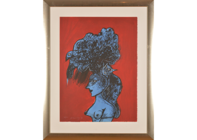 Corneille - Vrouwenhoofd rood