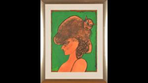 Corneille - Vrouwenhoofd groen
