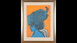 Corneille - Vrouwenhoofd oranje