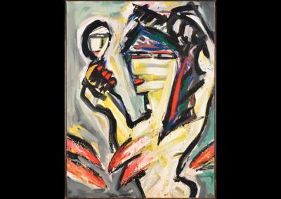 Guido Goedheer - Vrouw met spiegel