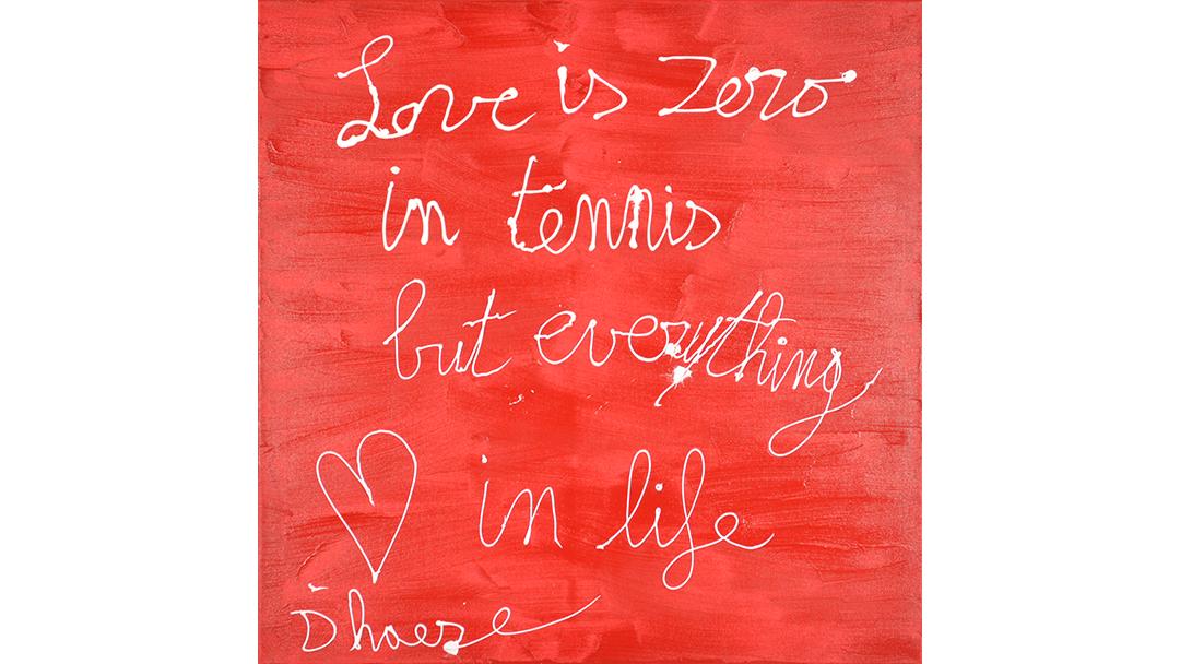 Hannes D'Haese - Love in tennis